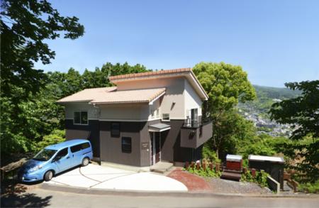 カナリ2号館(伊豆高原近く)外観/貸別荘 ビサージュ
