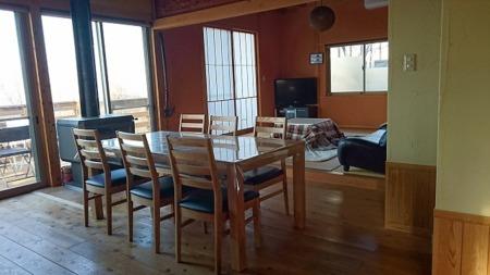 和風ハウス。和室とリビングがあります。/民家茶房 遊心