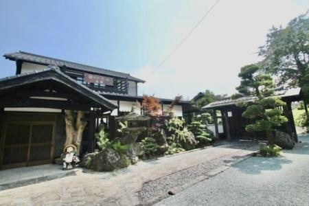 正面入口です。五岳の顔となっております/別荘五岳