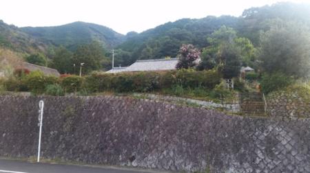 道路側から見た貸別荘/熊野古道 曽根の貸別荘 OOKAWA