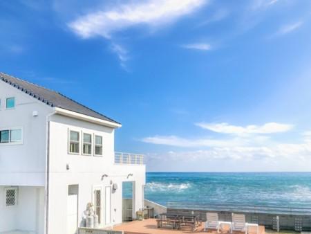 海沿いの貸別荘です、目の前が堤防!/デュエットリゾート千倉カトレア