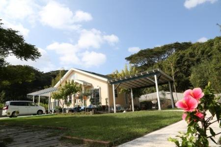 庭と外観/ハワイアンロコホーム ハナホウ