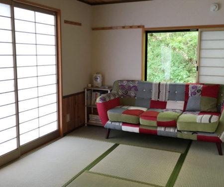 小上がりの和室/木戸場ロッジ