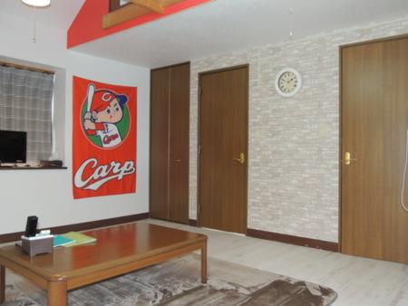 客室1階、テレビ冷蔵庫その他完備/ゲストイン大朝の杜