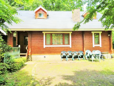 湖畔のログハウス ログキャビン貸別荘ヨールマー
